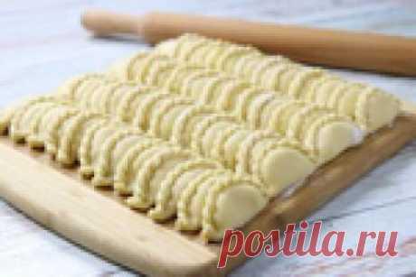 Бабулины вареники с творогом и картошкой – это очень-очень вкусно!