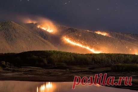Рейс в ад: Поезд проехал сквозь горящий лес в Хабаровском крае