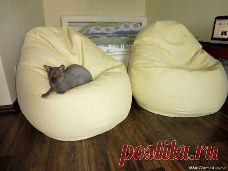 Как самому сделать кровать и кресло-грушу из полистирола + 3мк