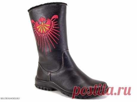 Сапожки школьные Марко 6925 - детская обувь, обувь для девочек, сапоги. Купить обувь Marko