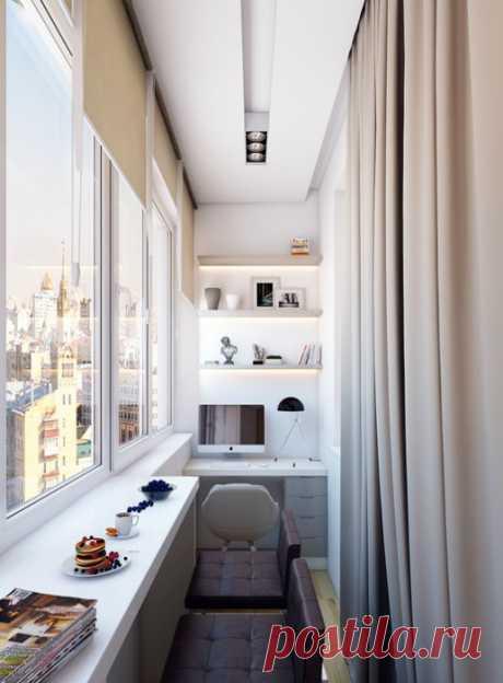 Изумительные идеи оформления лоджии, которые сделают её настоящим «сердцем» квартиры — Pro ремонт