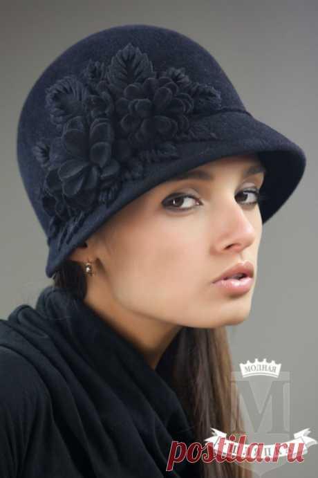 """Дизайнерские шляпки """"Модная шляпка"""" ."""
