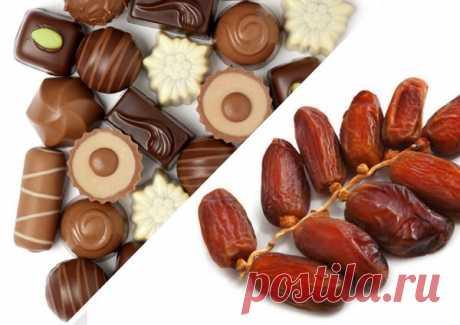 А вы бы заменили конфеты на финики?   Дары природы  