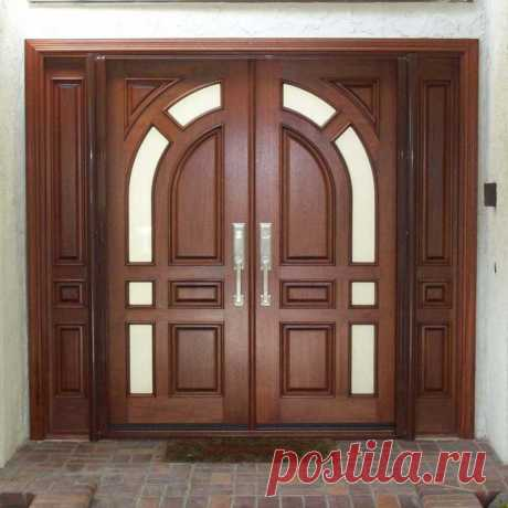 Входные двери из дерева в Москве и Подмосковье, поставка деревянных входных дверей по ценам производителя
