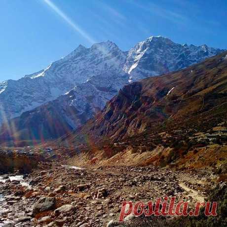 Гималаи. #горы,#гималаи,#непал,#путешествия.