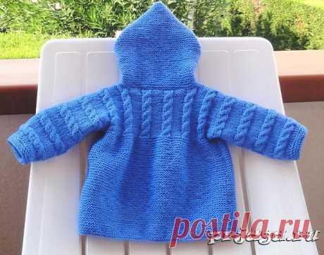 Пальто спицами для детей от Filomena Lanzara