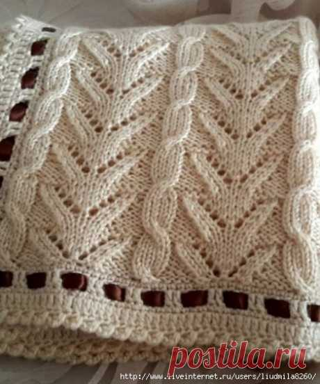 Knitting by spokes