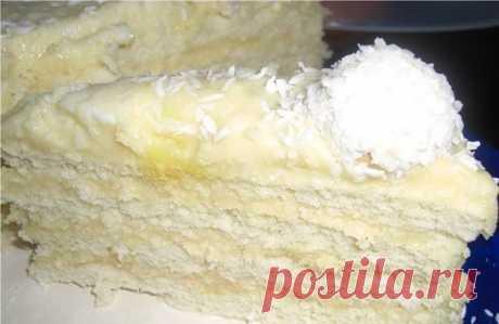"""Торт """"Рафаэлло"""" - рецепт с фото пошагово. Мягкий и очень вкусный торт """"Рафаэлло"""" - рецепт в домашних условиях."""