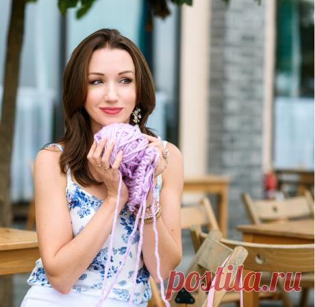 Видео мастер-классы по вязанию спицами, от Юлии Имукиной на milaneeda.ru