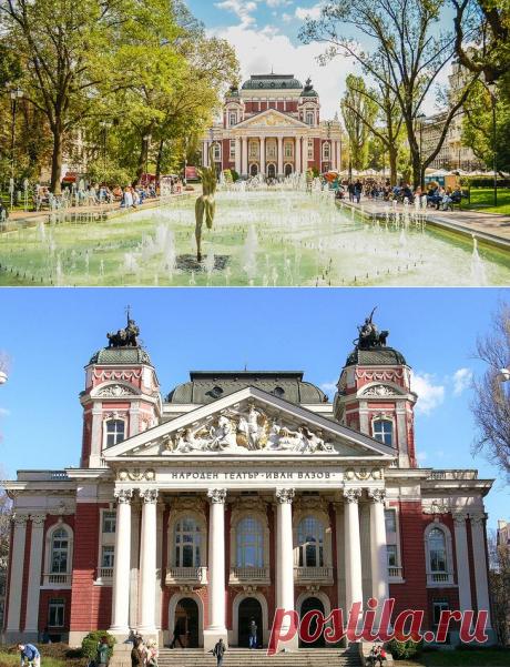 Достопримечательности Софии: что посмотреть в столице Болгарии-НАЦИОНАЛЬНЫЙ ТЕАТР ИВАНА ВАЗОВА