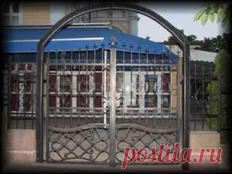 Ворота на дачу, в дом, котедж, цены от 3000 руб.