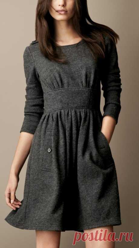 Шьём платье. Размер 36-56 (евро) выкройки