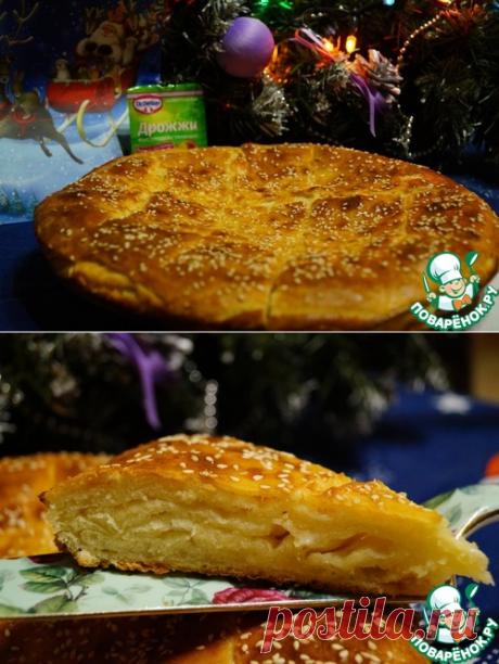 """Сырный пирог """"Воздушный"""" - кулинарный рецепт"""
