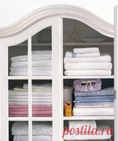 Запах затхлости в бельевом шкафу - полезные советы