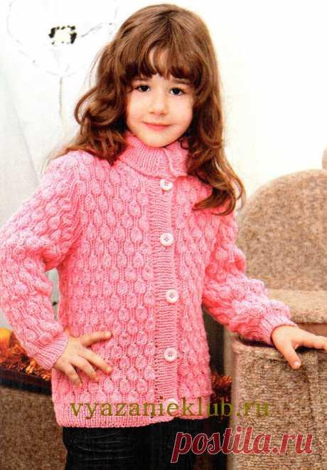 Жакет для девочки - Для девочек - Каталог файлов - Вязание для детей
