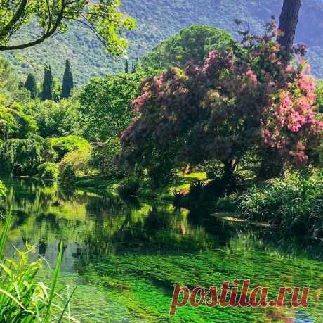 Самый романтичный сад Италии! | Анна Синица | Яндекс Дзен