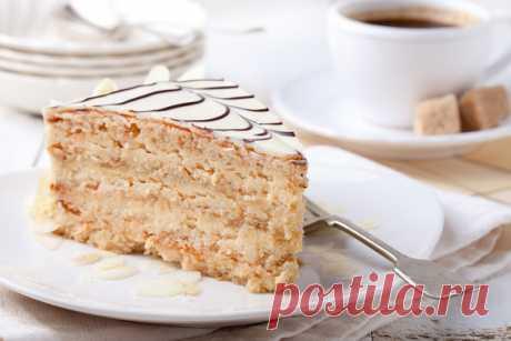 Классический торт «Эстерхази»: состав ингредиентов и рецепт приготовления