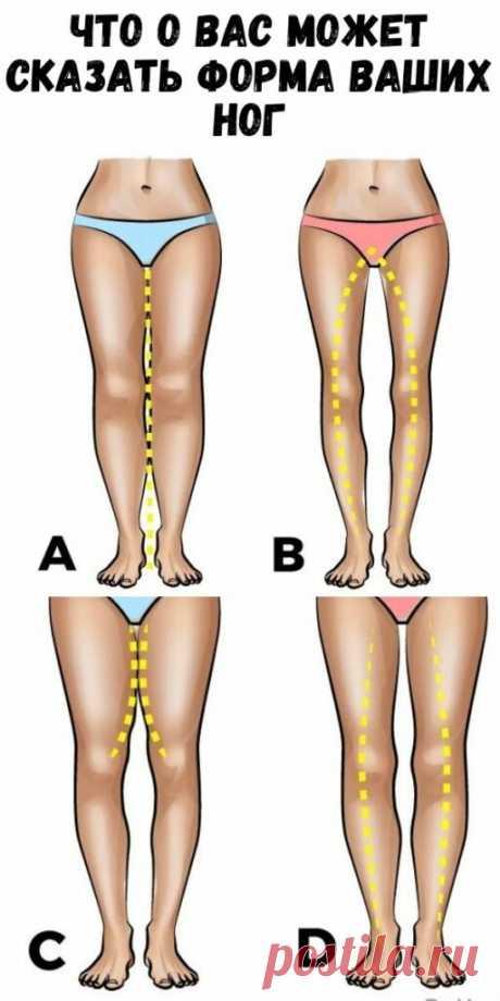 Что о вас может сказать форма ваших ног - Упражнения и похудение
