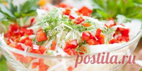 Салат из капусты с заправкой из брынзы : Салаты : Кулинария : Subscribe.Ru