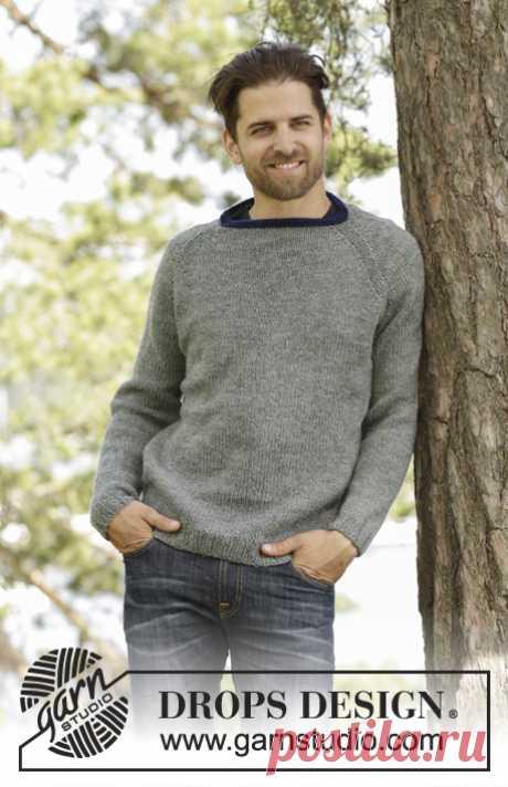 Мужской свитер Keystone - блог экспертов интернет-магазина пряжи 5motkov.ru