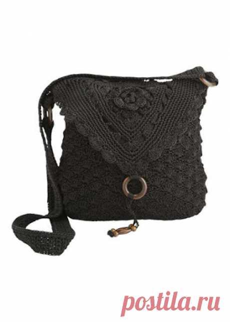 Las perlas negras en la luz lunar - el bolso por el gancho
