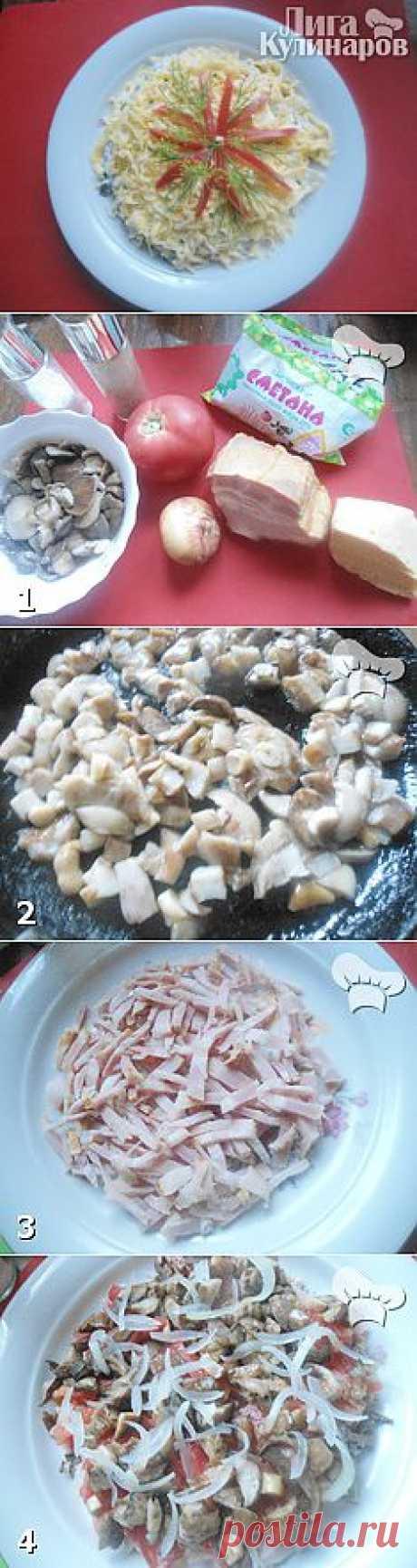 Салат Гранд — рецепт пошаговый от Лиги Кулинаров