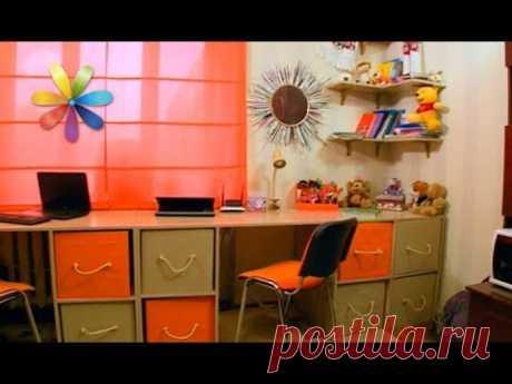 Как сделать уголок для ребенка в однокомнатной квартире – Все буде добре. Выпуск 1117 от 06.11.17 - YouTube