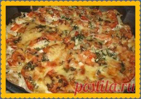 Mintay con los tomates y el queso en 30 minutos - la receta Cojonuda dietética