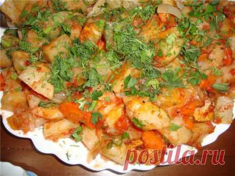 Наивкуснейшая картошка в духовке!