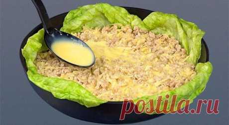 Вместо риса добавляю сырой картофель и получается чудо! — Мир интересного