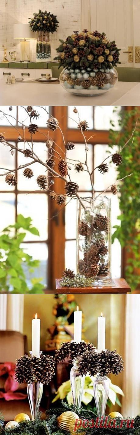 Декор из шишек: идеи — Сделай сам, идеи для творчества - DIY Ideas