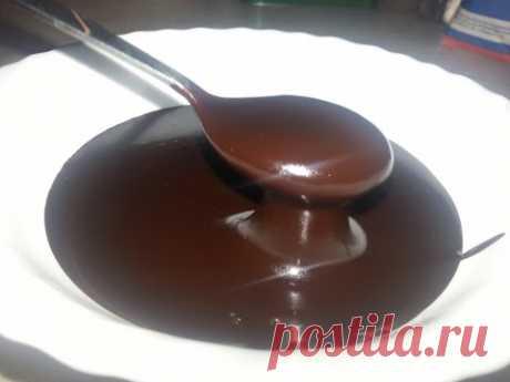 Шоколадный ганаш. Рецепт шоколадной глазури