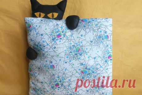 Шьем подушку «Найди кота» | CityWomanCafe.com