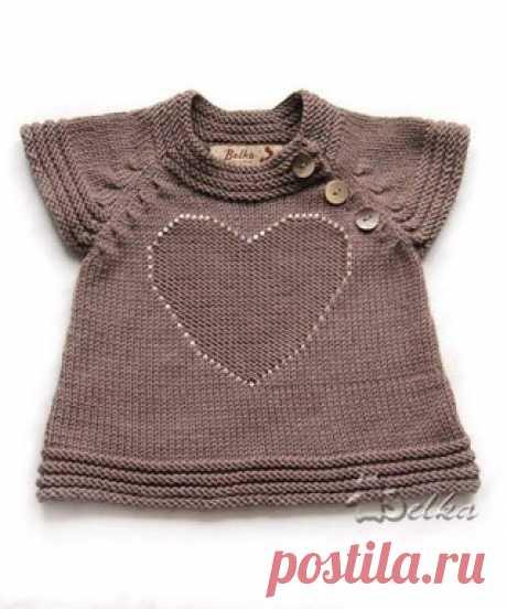 Наряжаем маленькую модницу :)))  #детям #рукоделие #хобби #творчество #своими_руками #вяжем