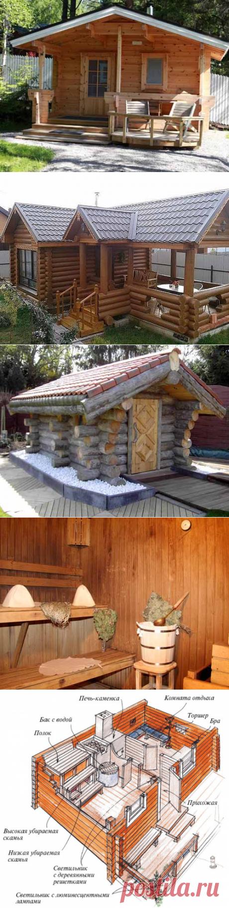 Баня на даче — 6 соток