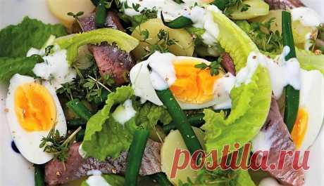 3 необычных салата с сельдью и картофелем | Поделки, рукоделки, рецепты | Яндекс Дзен
