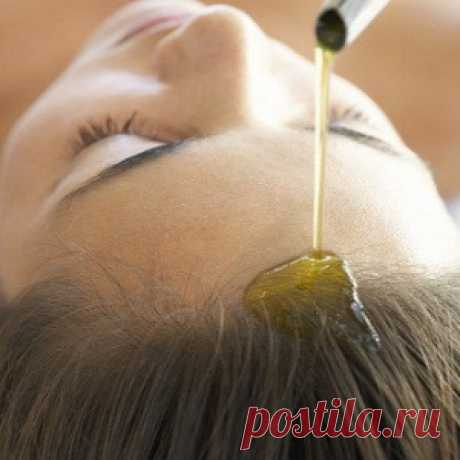 Эффективное средство от выпадения волос и облысения:массаж теплым маслом | FEMIANA