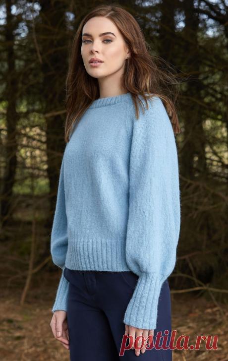 Вязаный пуловер Close | ДОМОСЕДКА