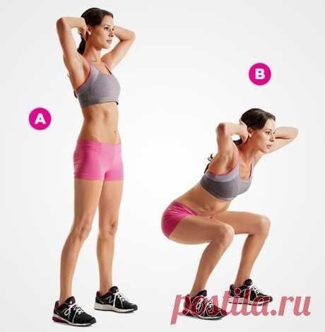 5 упражнений, которые очень быстро подтягивают живот! - interesno.win