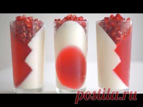 Низкокалорийный йогуртовый десерт.