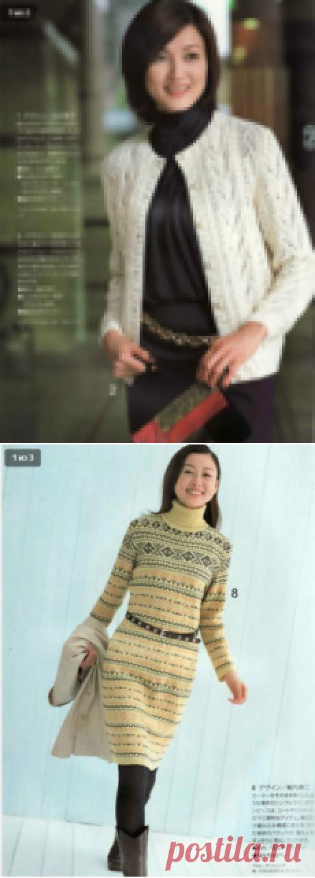 Элегантность, проверенная временем - 7 стильных моделей из японских журналов!