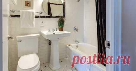 20 идей для маленькой ванной комнаты и туалета Секретные способы облегчить себе жизнь, найти вещам место и заодно удивить гостей.