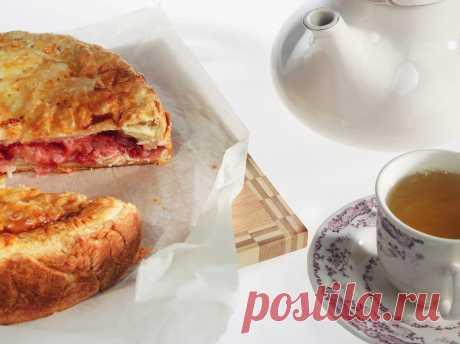 Пирог с брусникой и яблоками рецепт – русская кухня: выпечка и десерты. «Еда»
