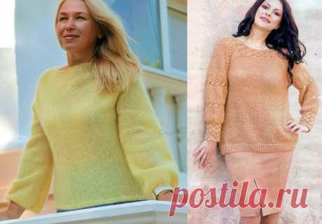 Немного идей для вязания спицами с примерами жакетов, пуловеров | Ирина СНежная & Вязание | Яндекс Дзен