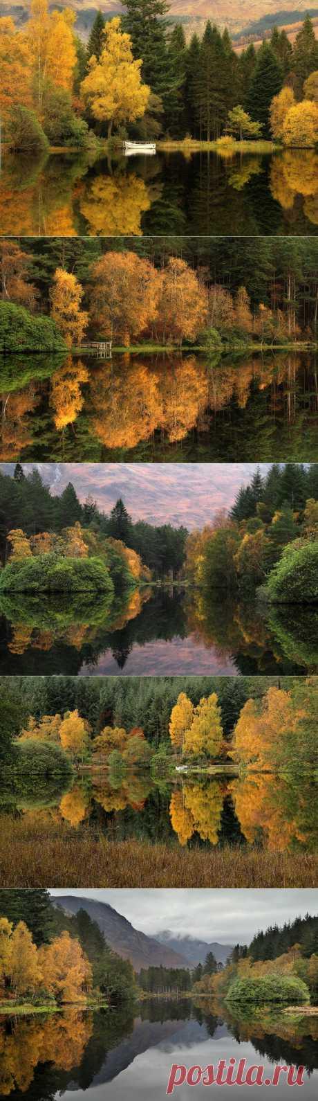 Отражение мира в природных зеркалах от Роджера Меррифилда | Newpix.ru - позитивный интернет-журнал