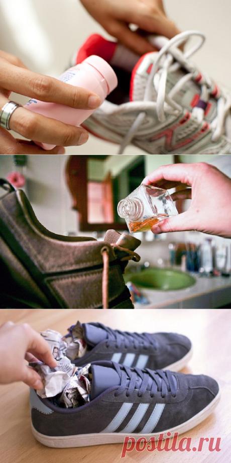 6 trucos, con que olvidarás del problema del olor desagradable del calzado