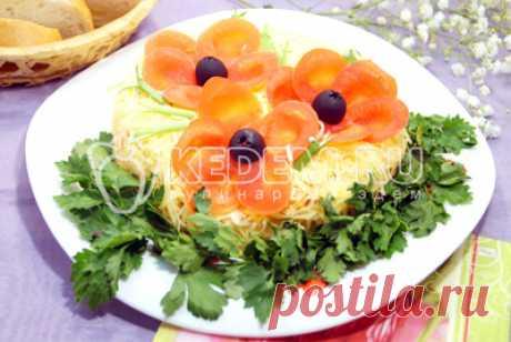 Салат «Маки» – Рецепты. Рецепты на 8 Марта