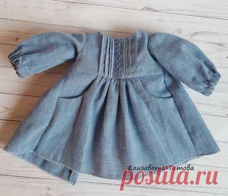 Шьем платье с карманами для куклы – Ярмарка Мастеров