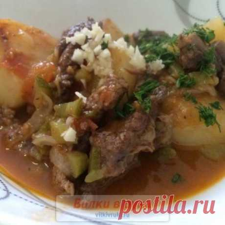 Azu in Tatar with beef