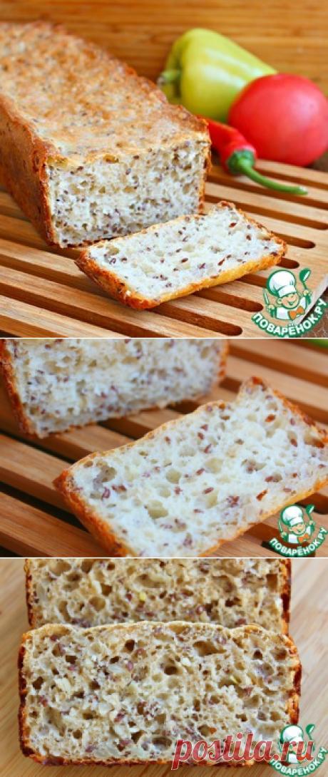 Шведский ночной хлеб без замеса - кулинарный рецепт